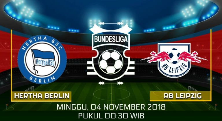 Prediksi Skor Hertha Berlin vs RB Leipzig 04 November 2018