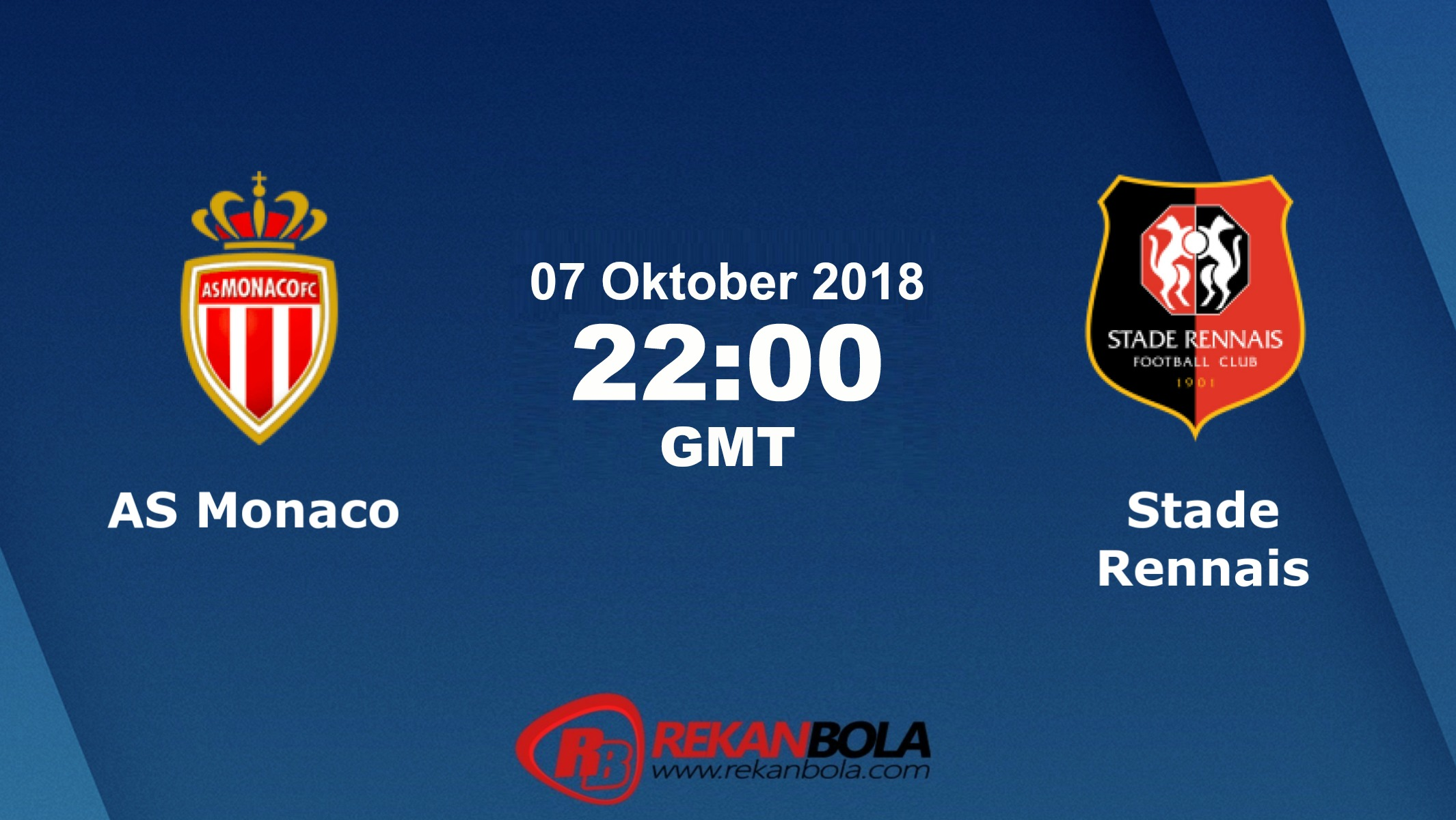 Nonton Siaran Live Streaming AS Monaco Vs Rennes 07 Oktober 2018