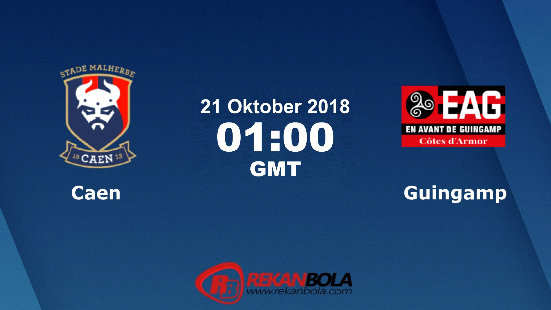 Nonton Siaran Live Streaming Caen Vs Guingamp 21 Oktober 2018