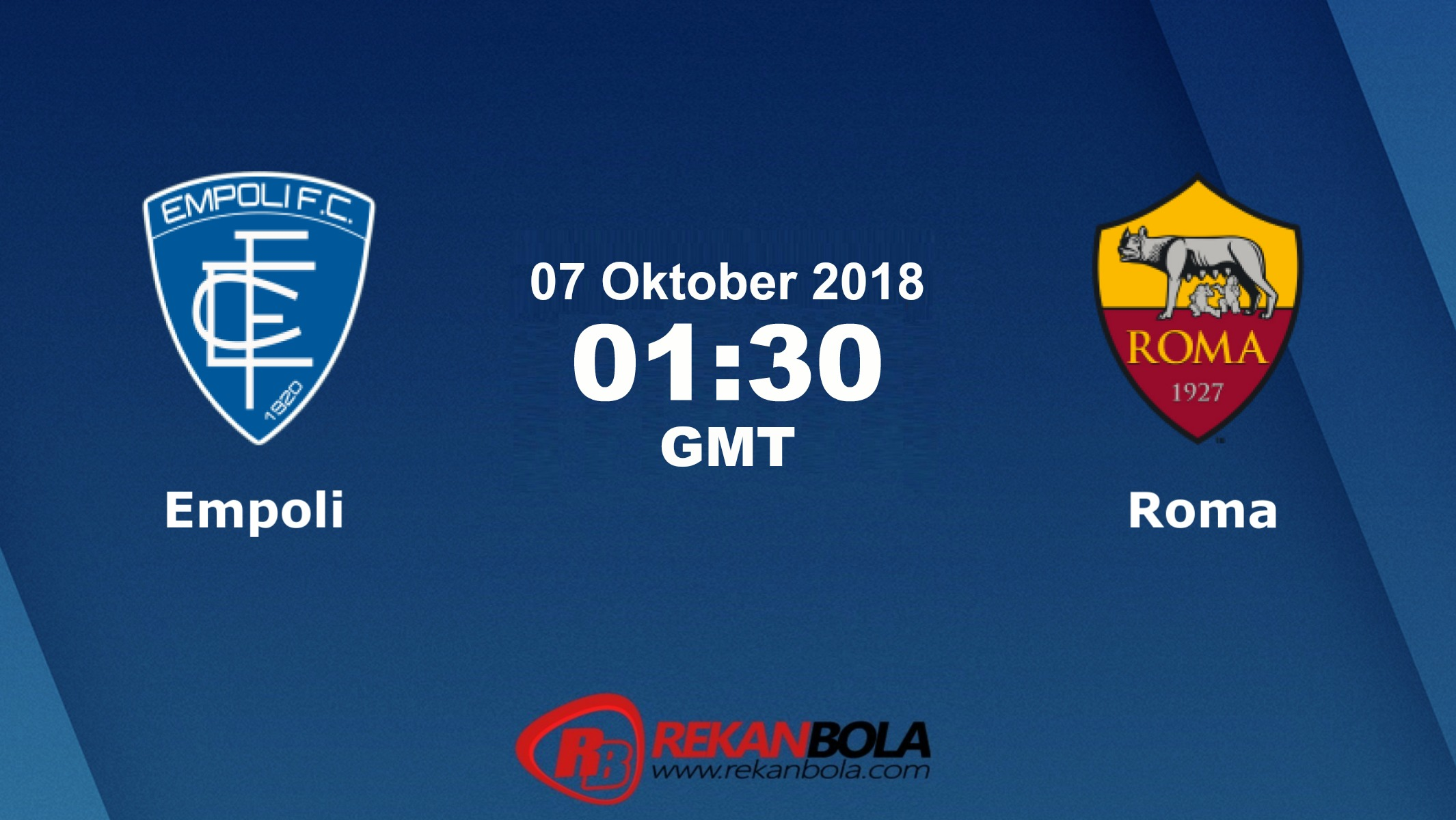 Nonton Siaran Live Streaming Empoli Vs AS Roma 07 Oktober 2018