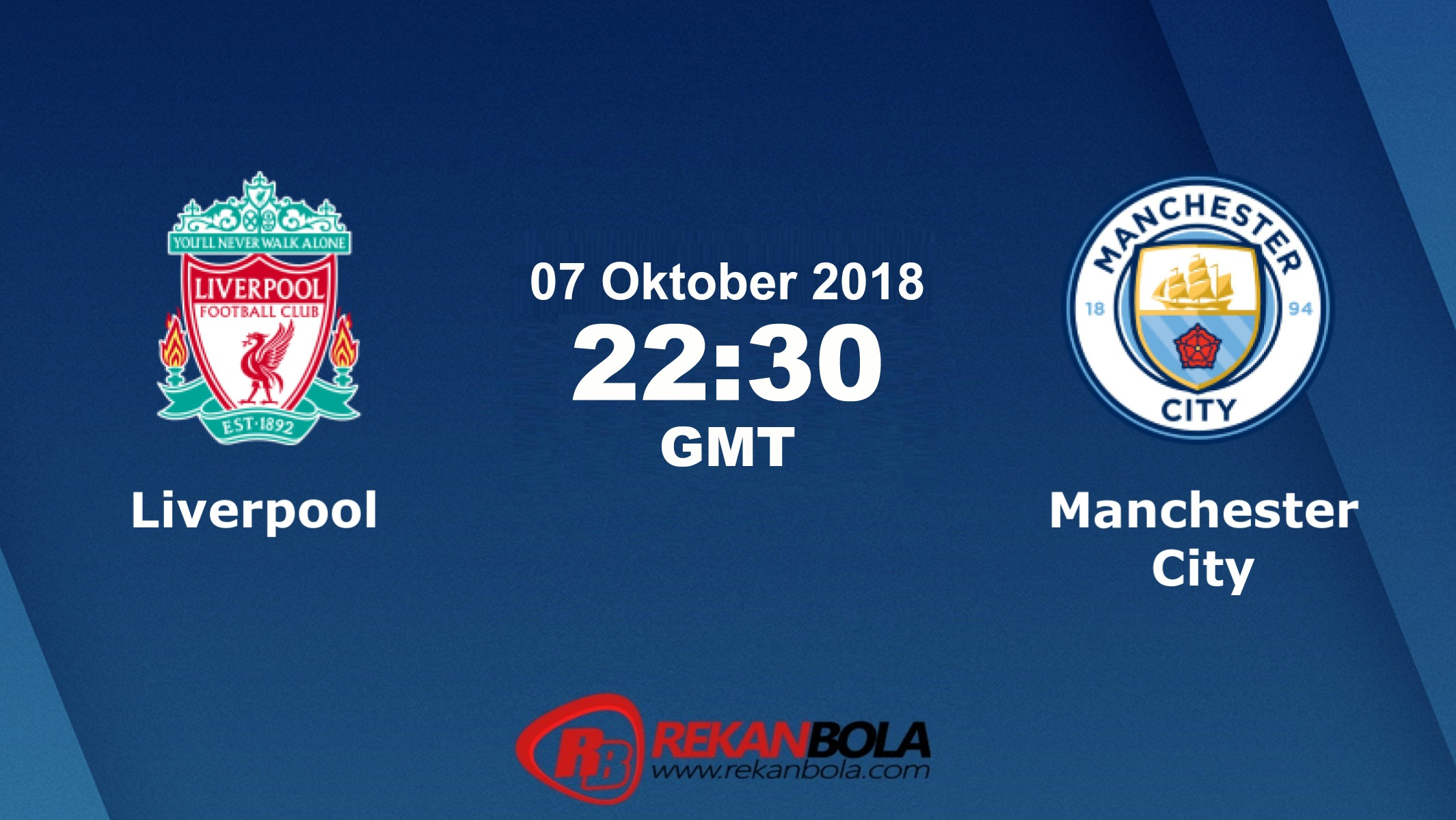 Nonton Siaran Live Streaming Liverpool Vs Man City 07 Oktober 2018