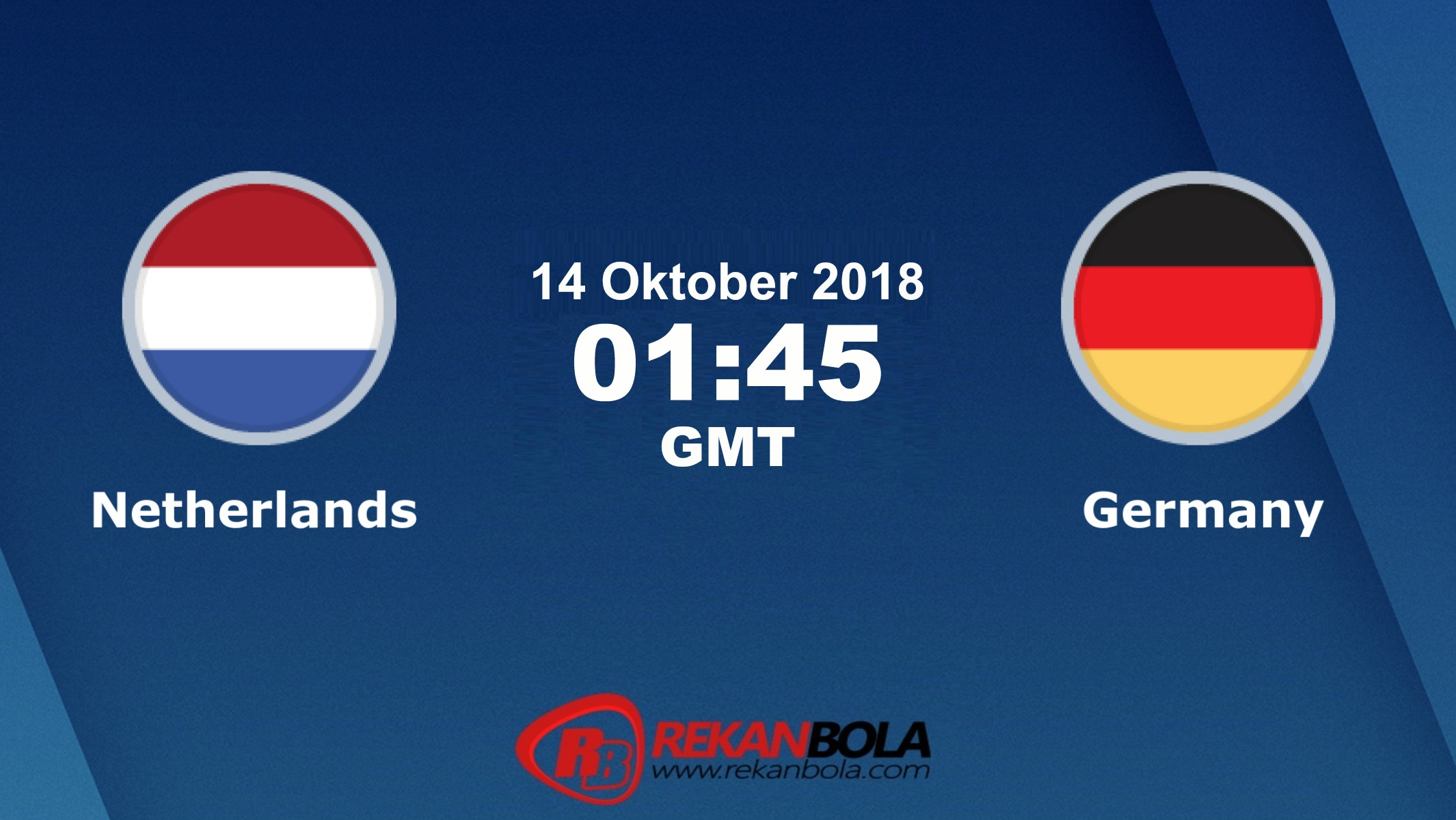 Nonton Siaran Live Streaming Netherlands Vs Jerman 14 Oktober 2018