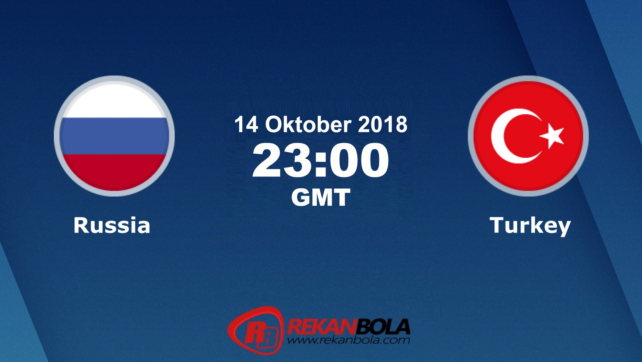 Nonton Siaran Live Streaming Russia Vs Turki 14 Oktober 2018