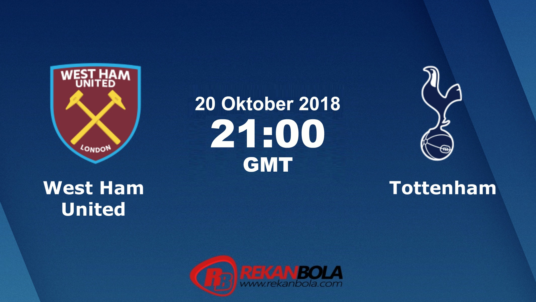 Nonton Siaran Live Streaming West Ham Vs Tottenham 20 Oktober 2018