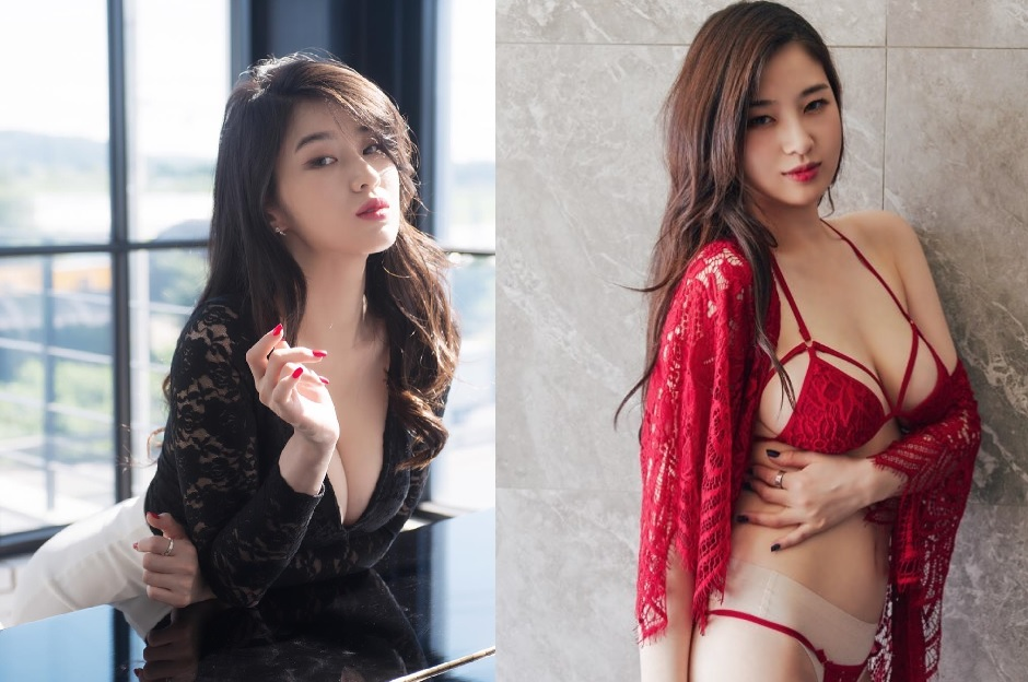 Foto Hot Kim Woohyeon Model asal Korea Selatan