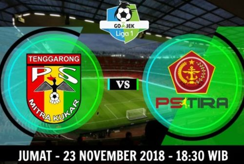 Prediksi Skor Mitra Kukar vs PS Tira 23 November 2018