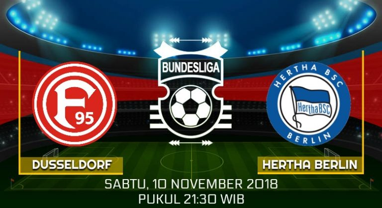 Prediksi Skor Dusseldorf vs Hertha Berlin 10 November 2018