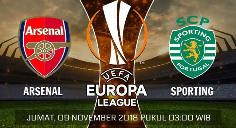 Prediksi Skor Arsenal vs Sporting 09 November 2018