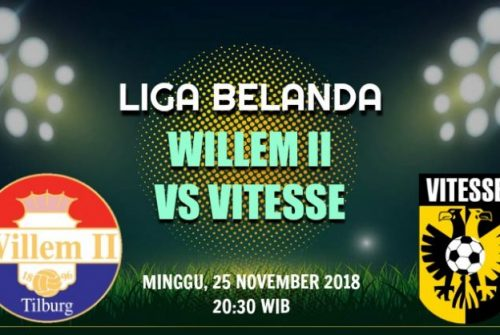 Prediksi Skor Willem II vs Vitesse 25 November 2018