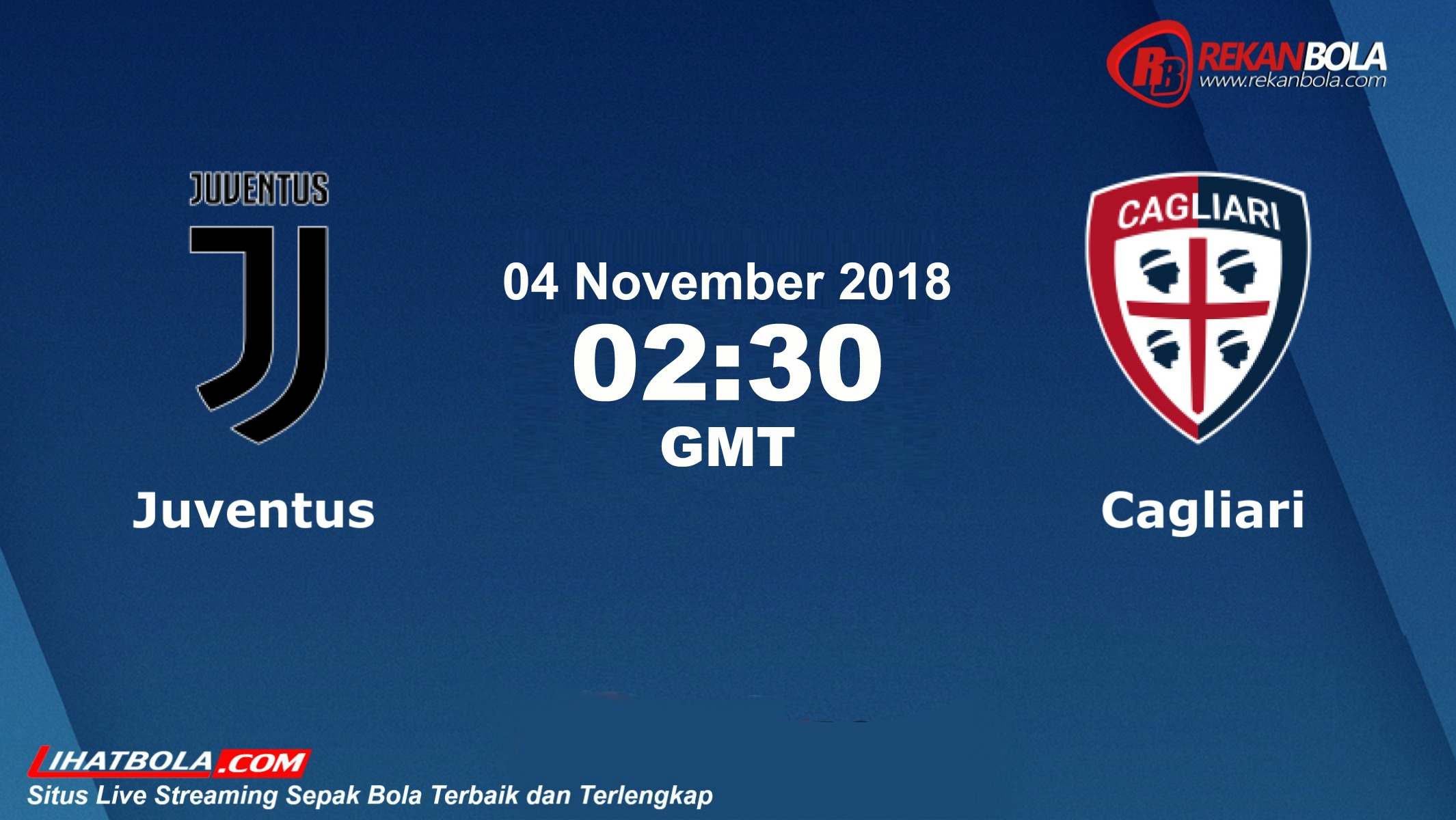 Nonton Siaran Live Streaming Juventus Vs Cagliari 04 November 2018
