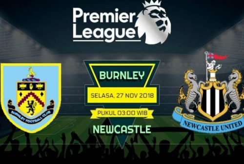 Prediksi Skor Burnley vs Newcastle 27 November 2018