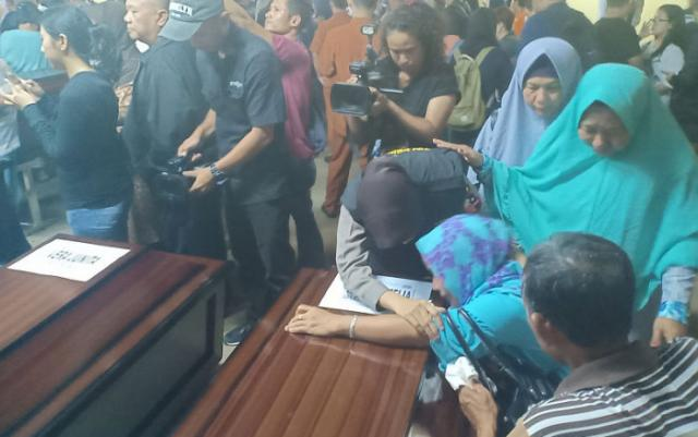 Flash: Dua Korban Lion Air PK-LQP Tiba di Pangkalpinang