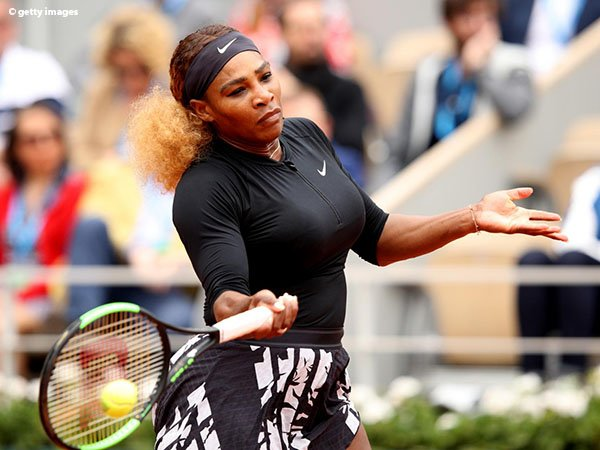 Hasil French Open: Serena Williams Luluh Lantakkan Kurumi Nara