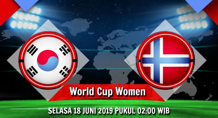 Prediksi Skor South Korea W vs Norway W 18 Juni 2019