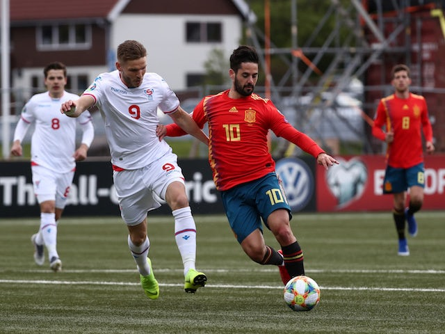 Prediksi Skor Spain vs Faroe Islands 09 September 2019