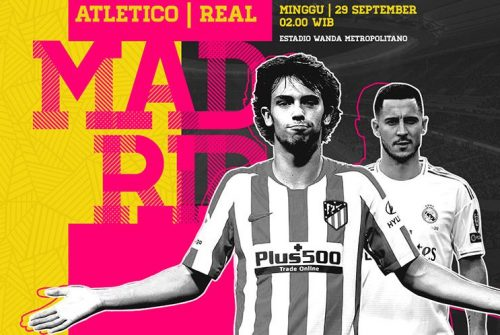 Atletico Madrid vs Real Madrid: 3 Fakta Menarik Kedua Tim