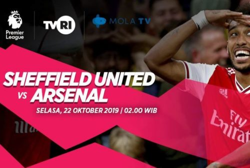 Prediksi Sheffield United vs Arsenal 22 Oktober 2019
