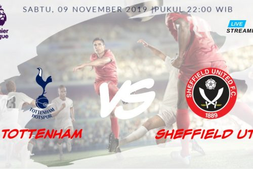Prediksi Skor Tottenham vs Sheffield Utd 09 November 2019
