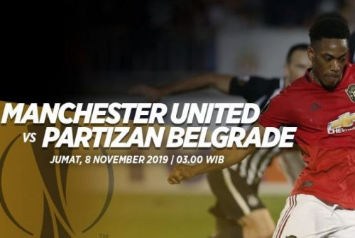 Prediksi Manchester United vs Partizan Belgrade 8 November 2019