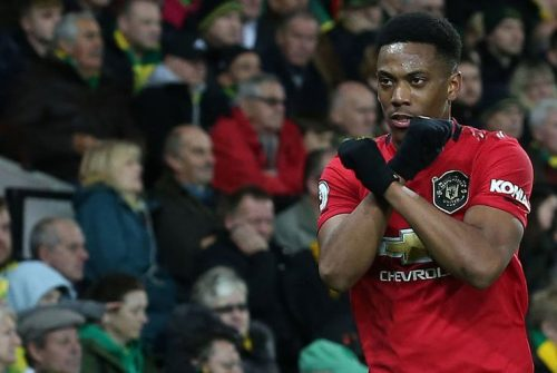 Kontra Tottenham, Manchester United tak Diperkuat Anthony Martial?